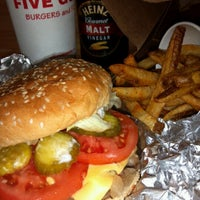 Photo taken at Five Guys by Maria F. on 9/19/2012