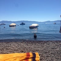Photo taken at Tahoe Park Homeowners Beach by heather w. on 7/3/2014