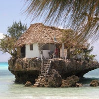 Photo taken at The Rock Restaurant Zanzibar by Алексей 😜😝😁 on 3/26/2014