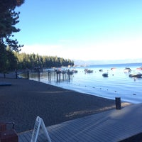 Photo taken at Tahoe Park Homeowners Beach by Teledandy on 9/7/2016