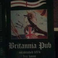 Photo taken at Britannia Pub by Paola M. on 3/16/2013