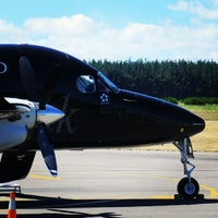 Photo taken at Taupo Airport (TUO) by David B. on 2/4/2014
