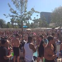 Photo taken at Wet Republic Ultra Pool by Tara S. on 9/15/2012