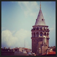 Photo taken at Galata Tower by Recep K. on 7/27/2013