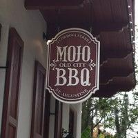 Photo taken at MOJO Old City BBQ by Jennifer on 10/8/2012