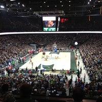 11/23/2012에 Kestutis K.님이 Žalgirio arena | Zalgiris Arena에서 찍은 사진