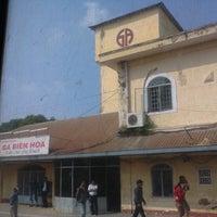 Photo taken at Ga Biên Hòa (Bien Hoa Station) by Quang Nhân P. on 1/24/2014