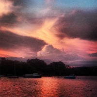 Photo taken at Lake Burley Griffin Sea Scouts by Kate M. on 3/13/2014