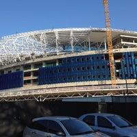 Photo taken at Construção da Arena do Grêmio by Oséas A. on 10/20/2012