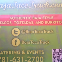 Photo taken at Baja Taco Truck by Phillipe on 4/29/2013