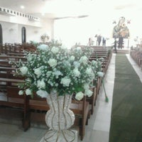 Photo taken at Igreja São Raimundo by Juliana L. on 1/18/2013