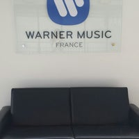 Photo taken at Warner Music France by Joey T. on 5/13/2014