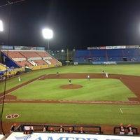 Photo taken at Estadio Beto Ávila by Lucia M. on 6/8/2013