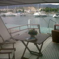 Photo taken at Club Nautico Sant Carles de la Rapita by Patricia A. on 9/17/2012
