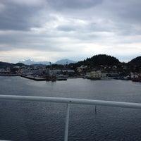 Photo taken at Florø by Eduardo on 5/21/2014