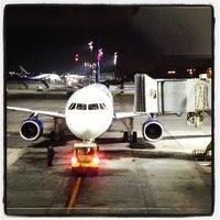 Photo taken at Comodoro Arturo Merino Benitez International Airport (SCL) by Maximiliano on 8/20/2013