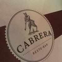 Foto diambil di Cabrera Resto Bar oleh KnxDT pada 3/3/2017