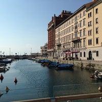 "Photo taken at Passaggio Joyce ""Ponte curto"" by Nadine on 8/7/2014"