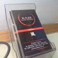 Photo taken at Kaze Hair Studio by RamylaFA on 10/20/2012