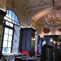 Photo taken at Brasserie Мост by Mariette on 7/29/2013