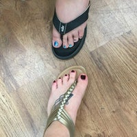 Photo taken at NY Nails by Staci A. on 7/5/2016