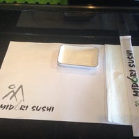 Photo taken at Midori Sushi by Daniel L. on 12/18/2013