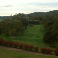 Photo taken at Crockett Ridge Golf Course by Kris on 10/3/2012