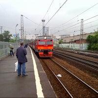 Photo taken at Ж/Д станция Фили by ☭ volgania ☭. on 5/23/2013