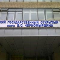 Photo taken at МГОУ им. В.С.Черномырдина (Московский Государственный Открытый Университет) by ☭ volgania ☭. on 9/15/2012
