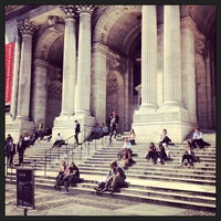 Photo taken at New York Public Library by Timothy S. on 4/8/2013