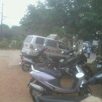 Photo taken at Canara College Parking Lot by Kruthika S. on 12/18/2012