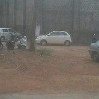 Photo taken at Canara College Parking Lot by Kruthika S. on 3/14/2013