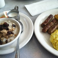Photo taken at Monrovian Family Restaurant by Erik S. on 3/31/2013