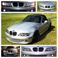 Photo taken at Las Brisas car wash by Juan Manuel D. on 3/5/2014