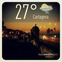 Photo taken at Centro Histórico de Cartagena / Ciudad Amurallada by Cristian P. on 3/6/2013
