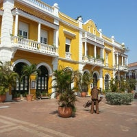 Photo taken at Centro Histórico de Cartagena / Ciudad Amurallada by Cristian P. on 2/16/2013