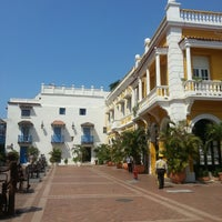 Photo taken at Centro Histórico de Cartagena / Ciudad Amurallada by Cristian P. on 2/15/2013