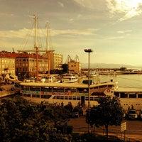 Photo taken at Rijeka Harbour by Christian Z. on 6/8/2013