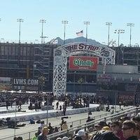Photo taken at The Strip at Las Vegas Motor Speedway by Stephen Y. on 10/27/2012