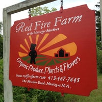 Photo taken at Red Fire Farm by James G. on 6/16/2013