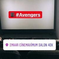 Photo taken at Cinemaximum by Sevsin on 5/2/2018