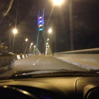 Photo taken at Lekki-Ikoyi link bridge by Femi on 7/20/2013