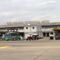 Photo taken at Port-Harcourt International Airport (PHC) by Femi on 8/1/2013