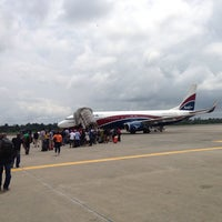Photo taken at Port-Harcourt International Airport (PHC) by Femi on 8/4/2013
