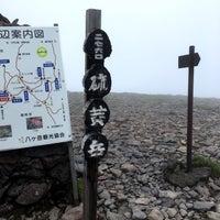 Photo taken at 硫黄岳山頂 by yama_taka7 on 7/16/2017