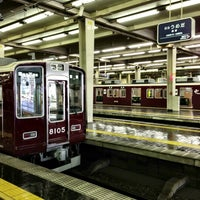 Photo taken at Hankyu Umeda Station (HK01) by yama_taka7 on 6/30/2013