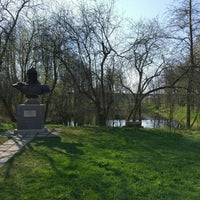 Photo taken at Музей-усадьба «Ботик Петра I» by Pavel A. on 4/30/2016