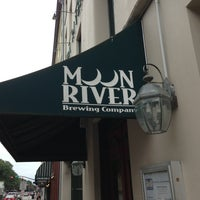 Photo taken at Moon River Brewing Company by Bill H. on 8/15/2013