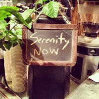 Photo taken at Bowery Coffee by Red F. on 12/1/2012