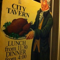 Photo taken at City Tavern by Rory on 10/9/2012